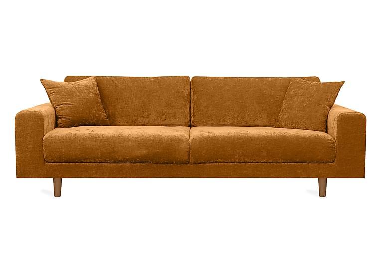 Boel 4-seters Sofa - Brun - Møbler - Sofaer - 2-4-seters sofaer