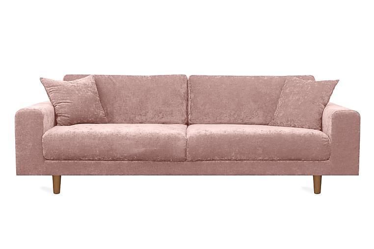 Boel 4-seters Sofa - Rosa - Møbler - Sofaer - 2-4-seters sofaer