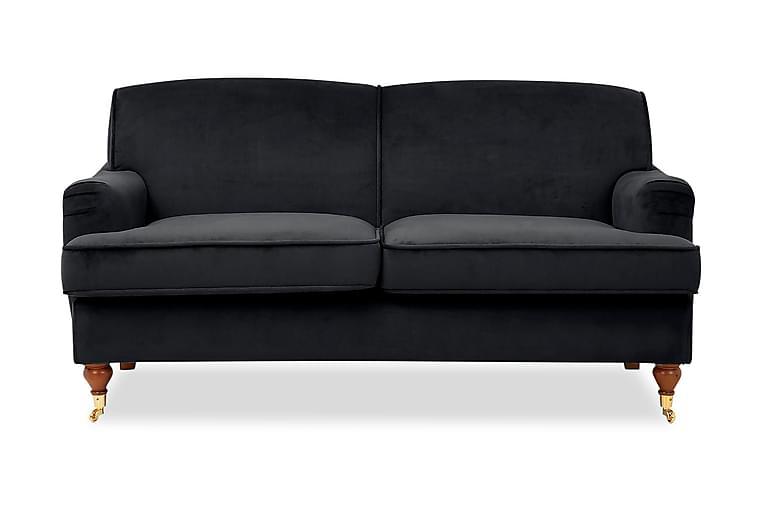 Bracknell 2-seters Sofa - Svart - Møbler - Sofaer - 2-4-seters sofaer