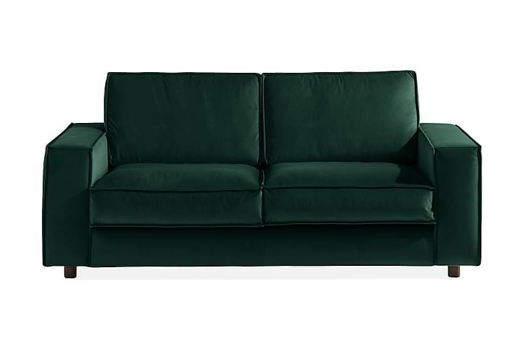 Cloudia Fløyelssofa 2-seters - Grønn - Møbler - Sofaer - 2-4-seters sofaer