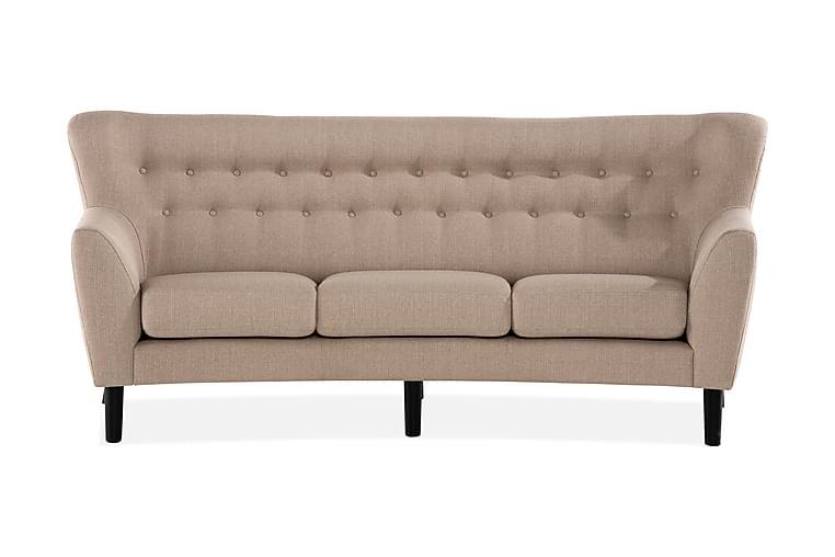 Ertan 3-seter Sofa - Beige - Møbler - Sofaer - 2-4-seters sofaer