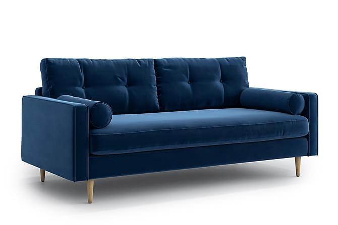 Esmeralde 3-seter Sofa - Blå - Møbler - Sofaer - 2-4-seters sofaer