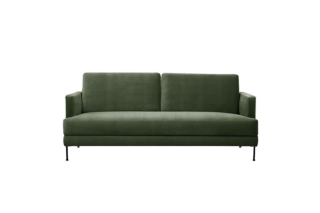 Fluente 3-seter Sofa - Grønn - Møbler - Sofaer - 2-4-seters sofaer
