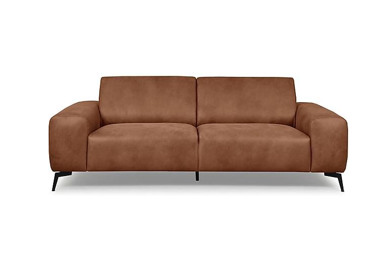 Gozer 2,5-seters Sofa - Brun - Møbler - Sofaer - 2-4-seters sofaer