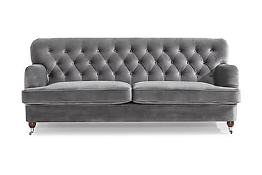 Howard Riviera 3-seters Sofa Fløyel