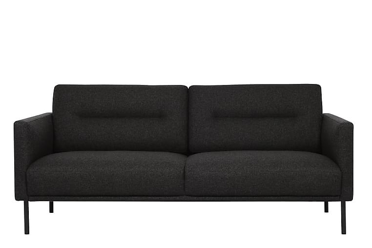 Larvik 2,5-seters Sofa - Svart - Møbler - Sofaer - 2-4-seters sofaer