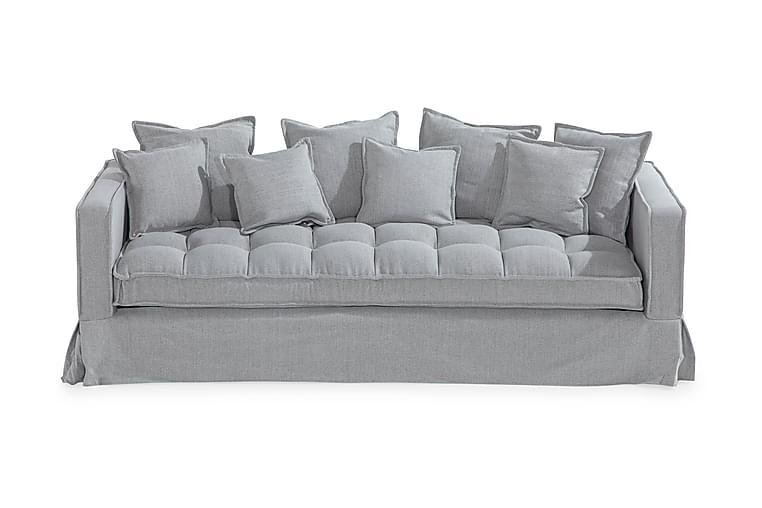 Luvia 3-seters Sofa - Grå - Møbler - Sofaer - 2-4-seters sofaer