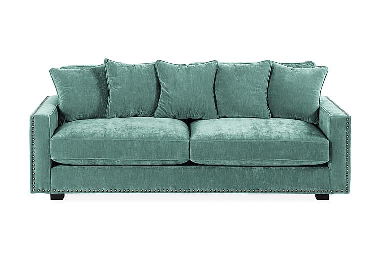 Manelen 3-seter Sofa - Grønn - Møbler - Sofaer - 2-4-seters sofaer