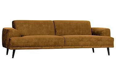 Mingerz Sofa 3-seter Fløyel