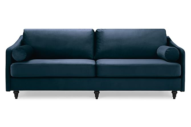 Mirage Fløyelssofa 3-seter - Midnattsblå - Møbler - Sofaer - 2-4-seters sofaer