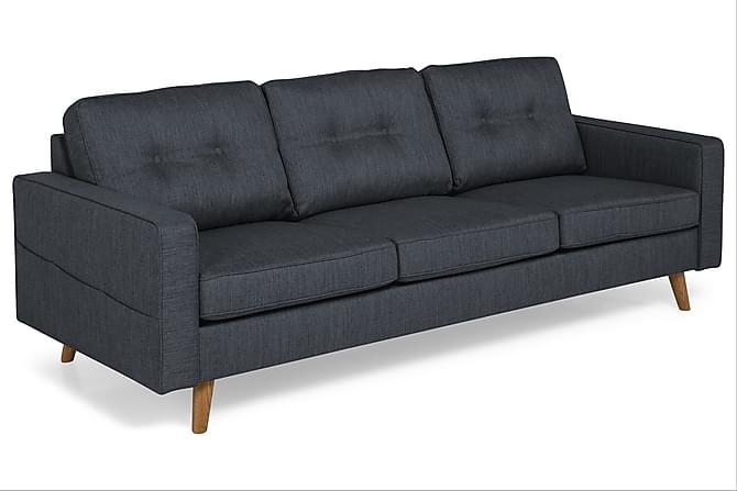 Monroe 3-seters Sofa - Mørkeblå - Møbler - Sofaer - 2-4-seters sofaer