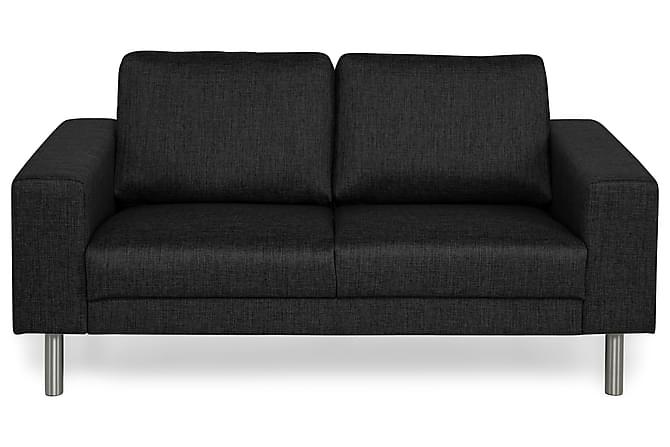 Runsala 2-seters Sofa - Svart - Møbler - Sofaer - 2-4-seters sofaer