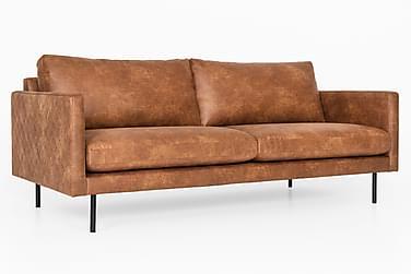 Salvina 3-seters Sofa Bonded Leather