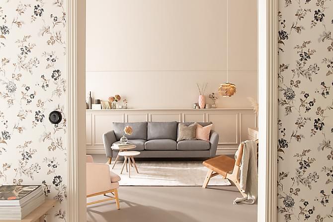 Trend 3-seters Sofa - Lysegrå - Møbler - Sofaer - 2-4-seters sofaer