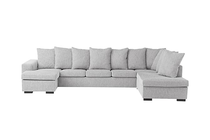 crazy u sofa xxl h yre lysegr. Black Bedroom Furniture Sets. Home Design Ideas