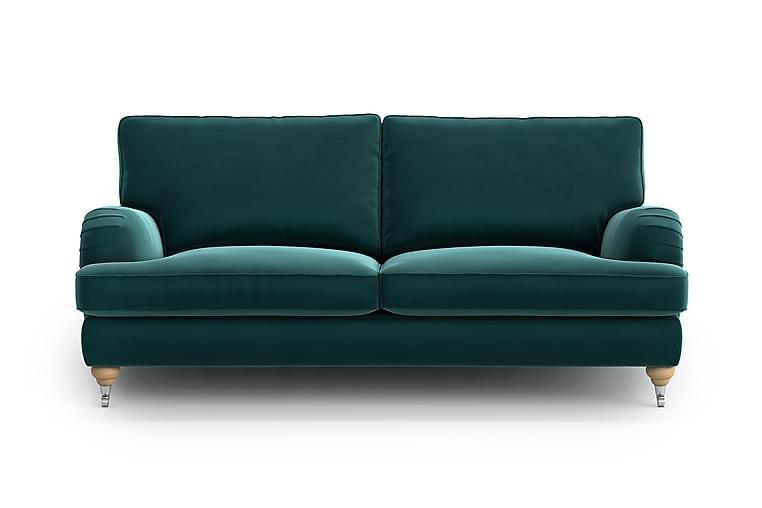 Caramen 3-seter Howard Sofa - Grønn/Turkis - Møbler - Sofaer - Howard-sofaer