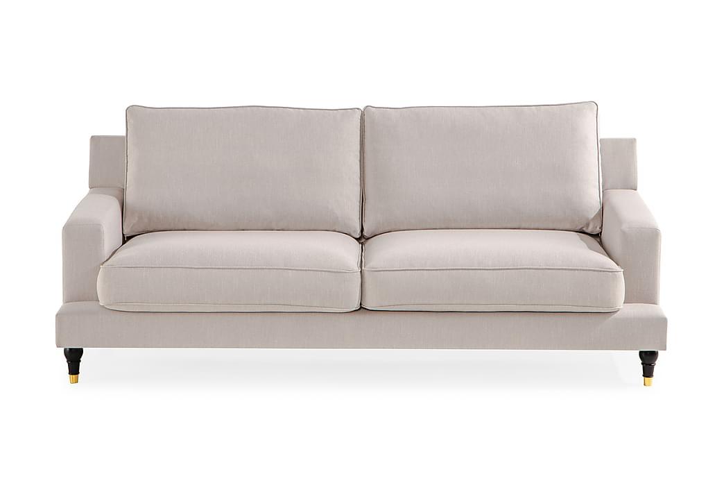 Djursholm 3-seters Sofa - Beige - Møbler - Sofaer - Howard-sofaer