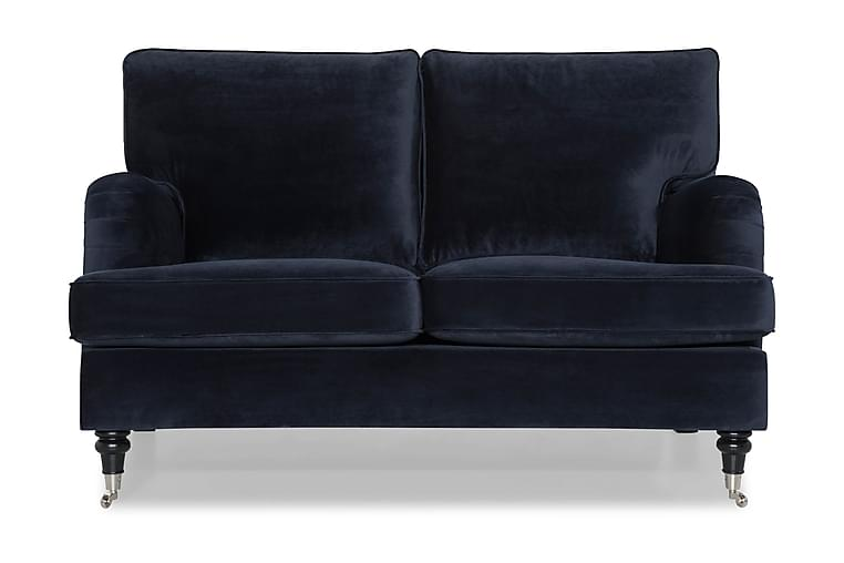 Howard Classic Fløyelssofa 2-seter - Midnattsblå - Møbler - Sofaer - Howard-sofaer