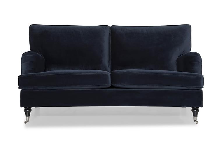 Howard Classic Fløyelssofa 3-seter - Midnattsblå - Møbler - Sofaer - Howard-sofaer
