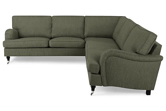 Howard Classic Hjørnesofa - Olivengrønn - Møbler - Sofaer - Howard-sofaer