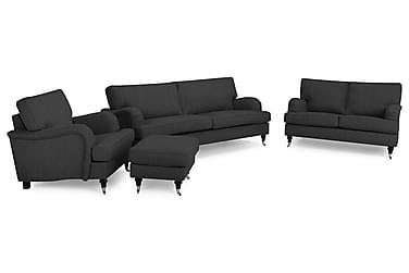 Howard Classic Sofagruppe 2-seter+Lenestol+Fotskammel