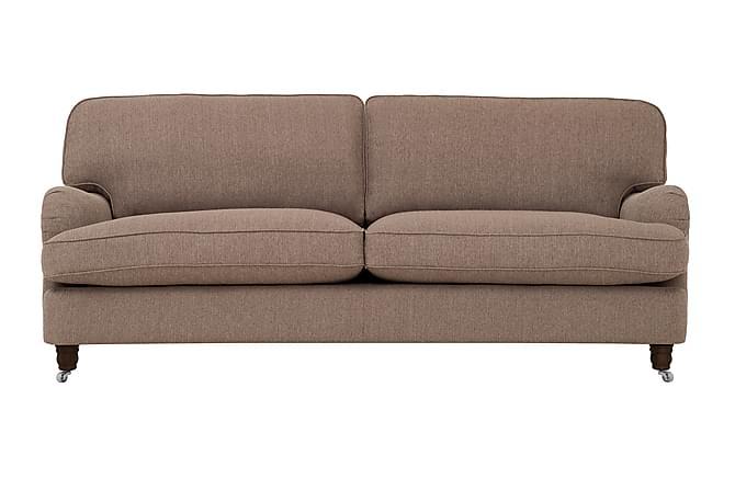 Howard Deluxe 3-seters Sofa - Brun - Møbler - Sofaer - Howard-sofaer