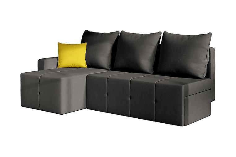 Hjørnesovesofa Universal - Grå - Møbler - Sofaer - Skinnsofaer
