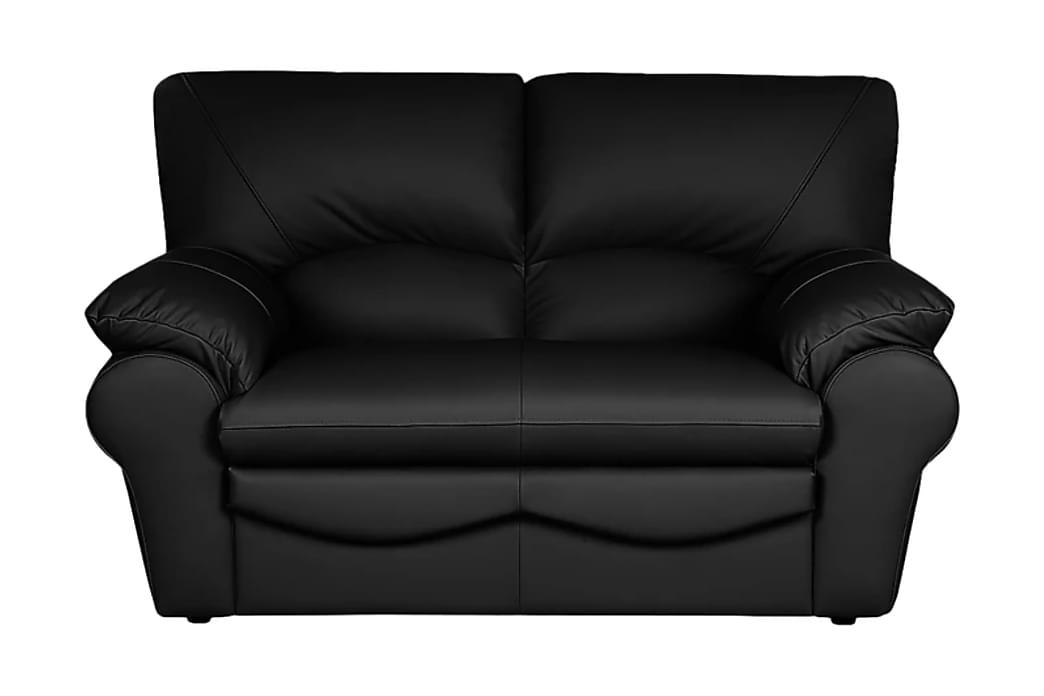 Muduex 2-seter Sofa - Svart - Møbler - Sofaer - Skinnsofaer