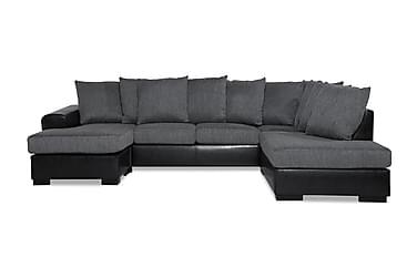 Ocean U-sofa med Divan Venstre