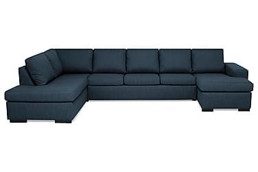 Boss U-sofa Large med Divan Høyre