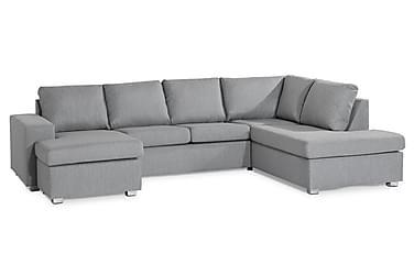 Boss U-sofa med Divan Venstre