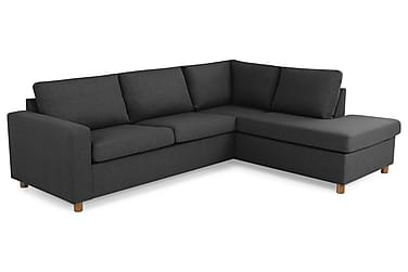 Crazy 2,5-seters Sofa med Sjeselong Høyre