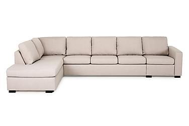Crazy 4-seters Sofa med Sjeselong Venstre