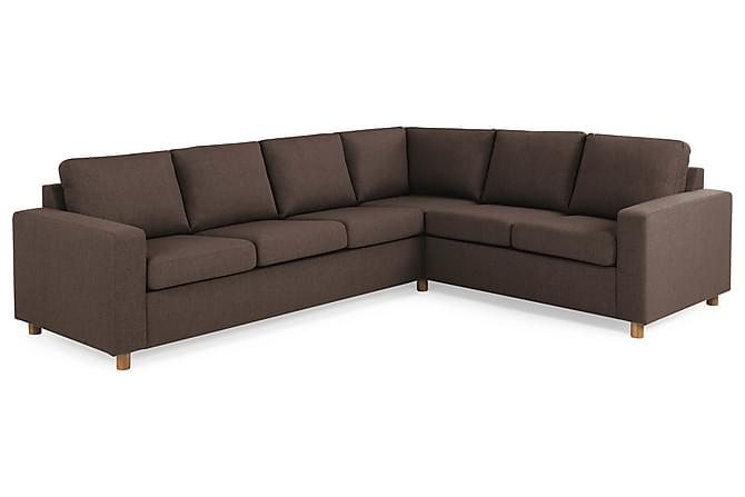 Crazy Hjørnesofa Large Vendbar - Brun - Møbler - Sofaer - Sofaer med sjeselong & U-sofaer