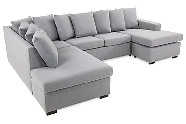 Crazy U-sofa Large Divan Høyre Konvoluttputer