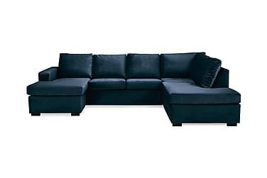 Crazy U-Sofa Large Høyre Fløyel