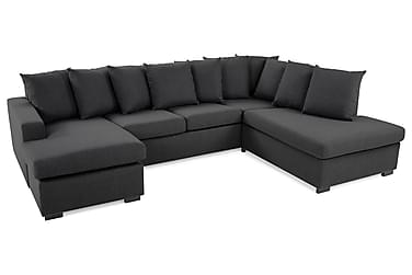 Crazy U-sofa Large Høyre inkl. Konvoluttputer