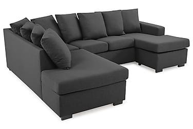 Crazy U-sofa Small Divan Høyre inkl. Konvoluttputer