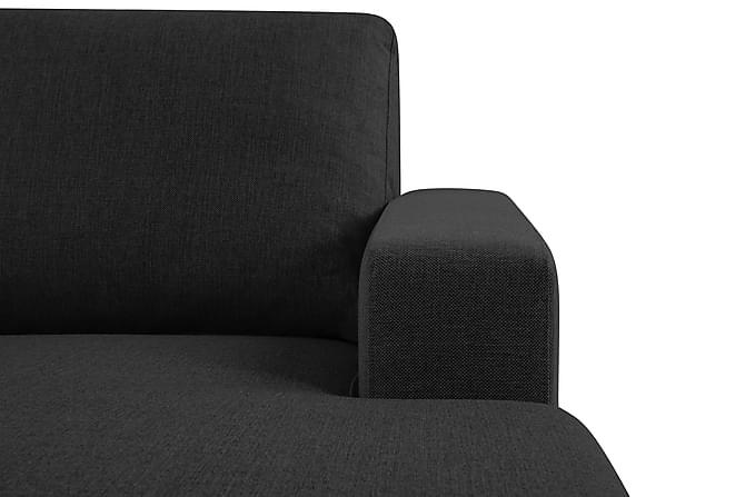 crazy u sofa xxl venstre antrasitt. Black Bedroom Furniture Sets. Home Design Ideas