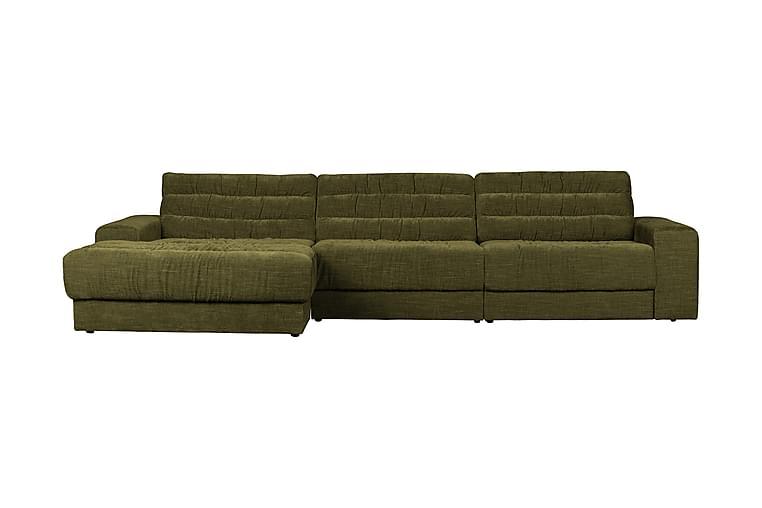Date 3-seter Divansofa Venstre - Grønn/Vintage - Møbler - Sofaer - Sofaer med sjeselong & U-sofaer