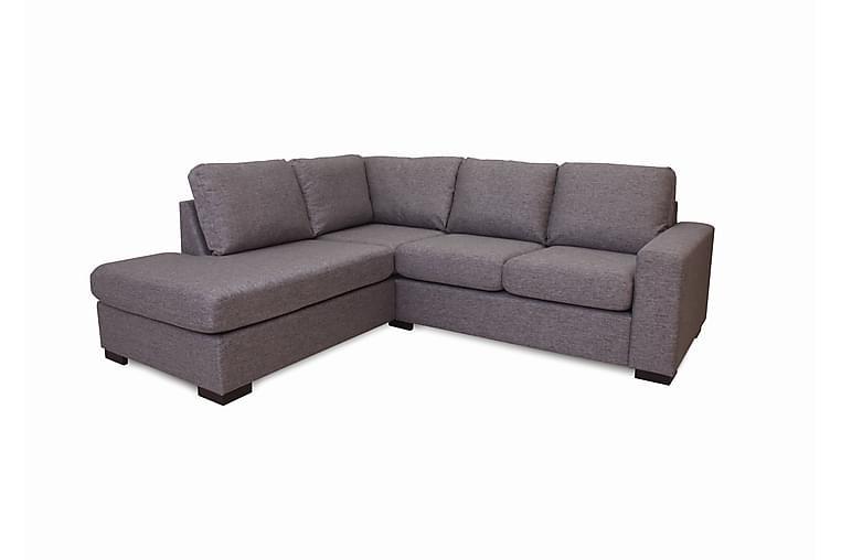 Hocksjö U-sofa - Grå - Møbler - Sofaer - Sofaer med sjeselong & U-sofaer