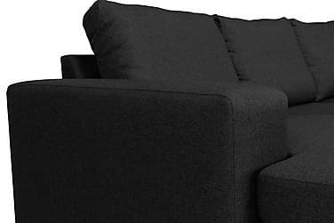 Houston U-sofa Large med Divan Venstre