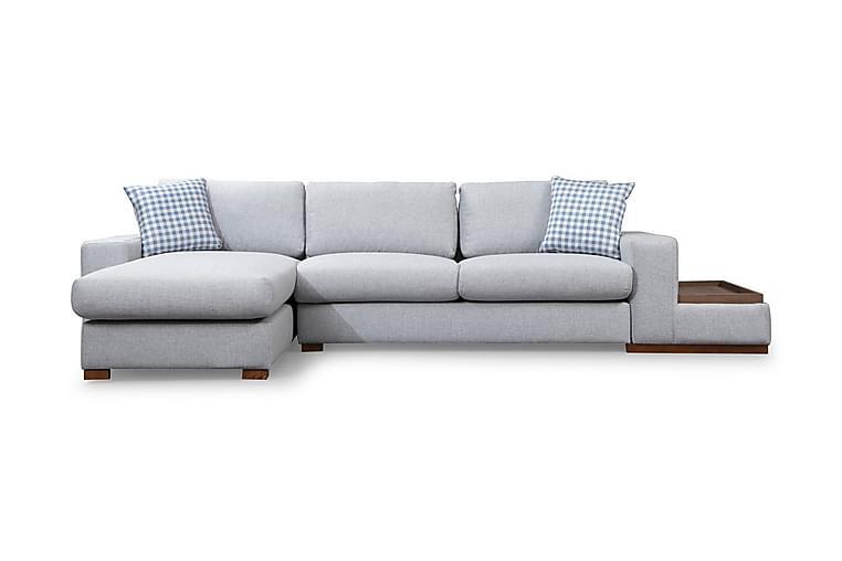 Huelva Divansofa - Grå - Møbler - Sofaer - Sofaer med sjeselong & U-sofaer