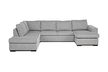 Link U-sofa Large med Divan Høyre