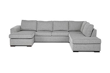 Link U-sofa Large med Divan Venstre