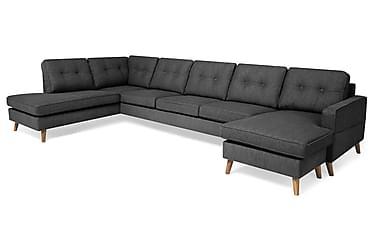 Monroe U-sofa Large med Divan Høyre