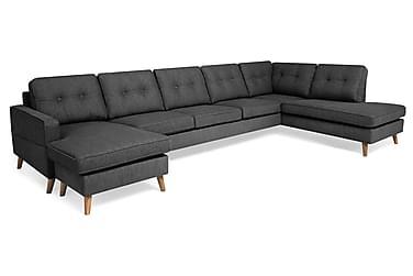Monroe U-sofa Large med Divan Venstre