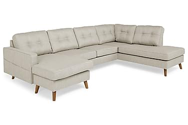 Monroe U-sofa med Divan Venstre