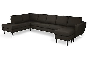 Nordic U-sofa Large med Divan Høyre