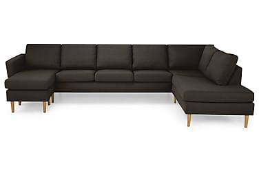 Nordic U-sofa Large med Divan Venstre